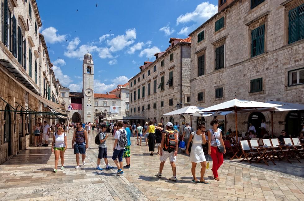 Stradun Street, Dubrovnik, Croatia