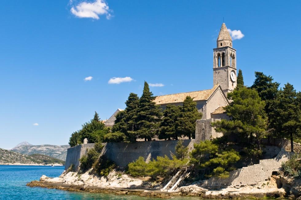 Catholic Monastery, Lopud, Dubrovnik, Croatia