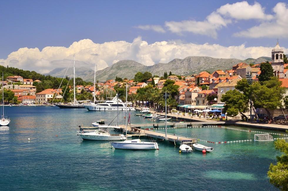 Boats, Cavtat, Dalmatia, Croatia