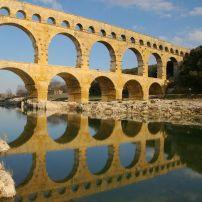 Aqueduct, Pont du Gard, Provence, France