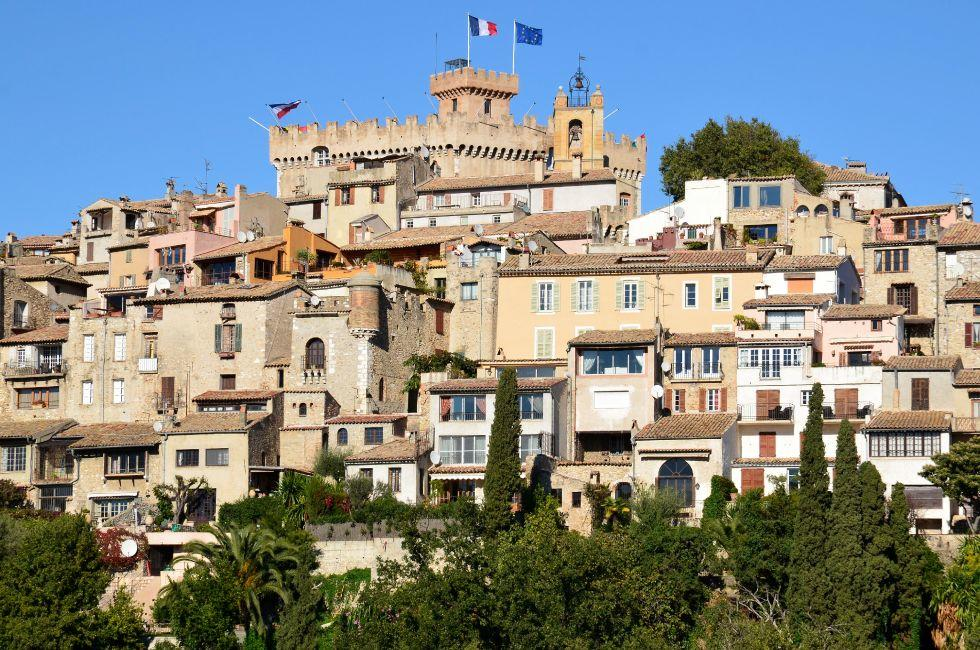 Haut-de-Cagnes, The French Riviera, France