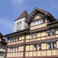 Building, Appenzell, Switzerland