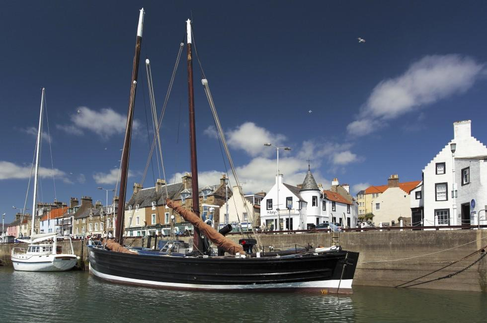 Anstruther Harbour, Scotland