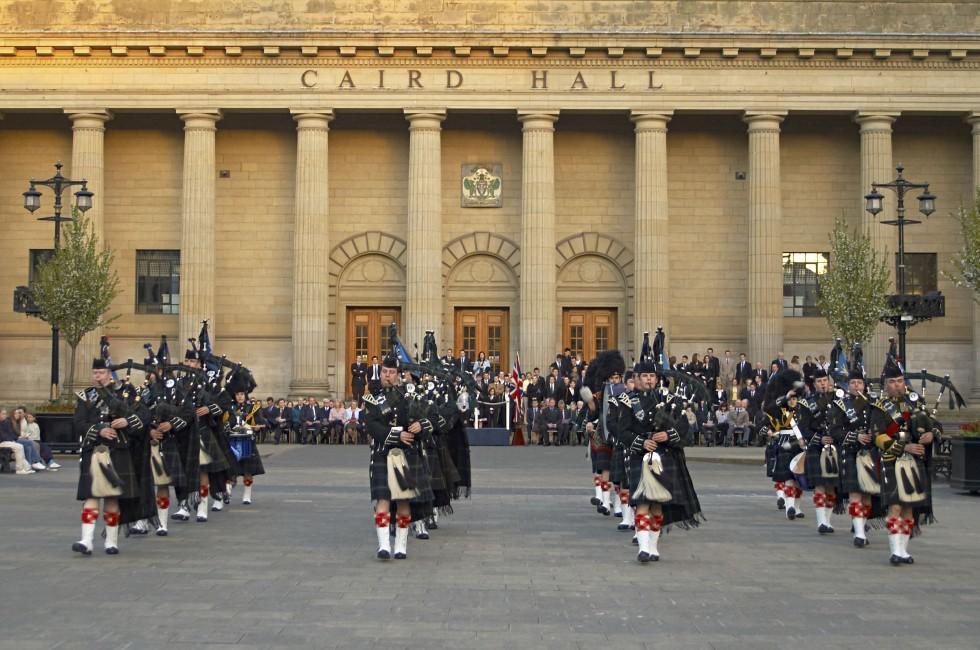 Caird Hall, Dundee, Scotland
