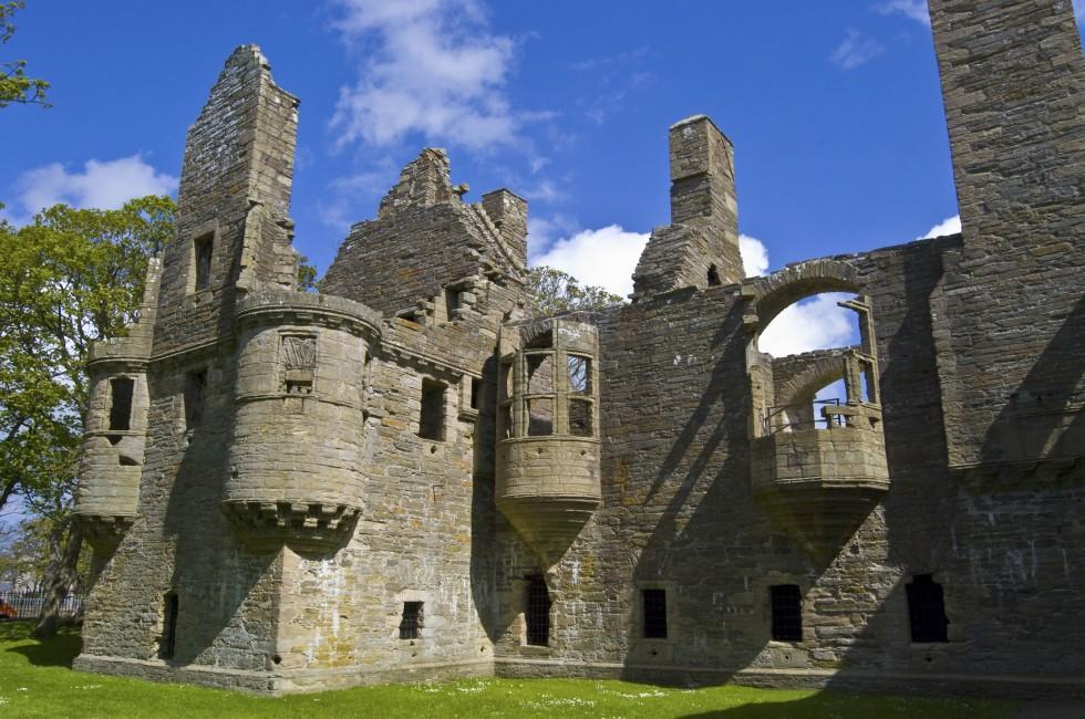 Earl's Palace, Kirkwall, Scotland