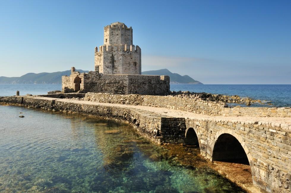 Watchtower; Methoni; Attica, Greek
