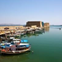 Venetian Fortress, Heraklion, Heraklion, Crete, Greece