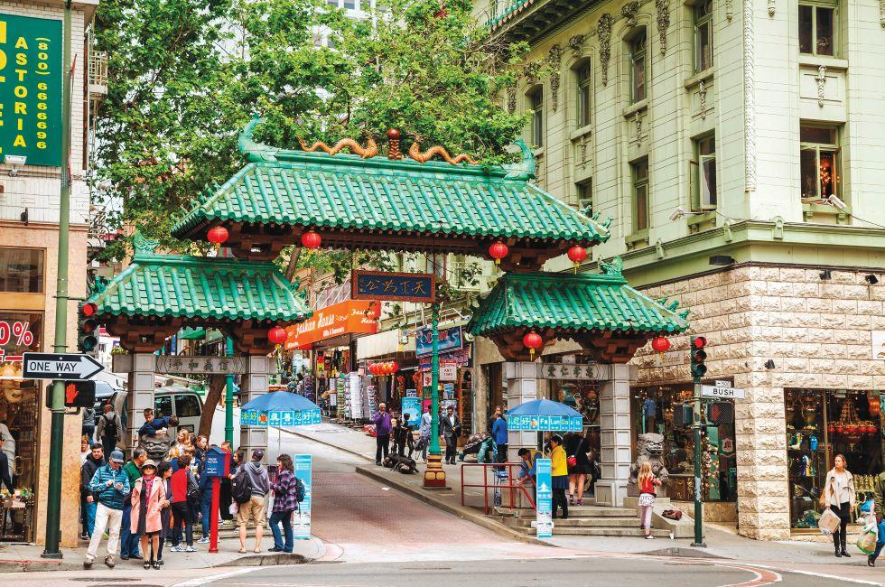 Chinatown Gate, Chinatown, San Francisco, California