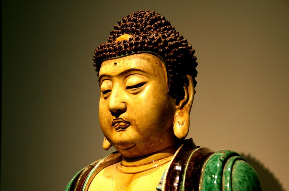 Buddha, Asian Art Museum, San Francisco, California, USA