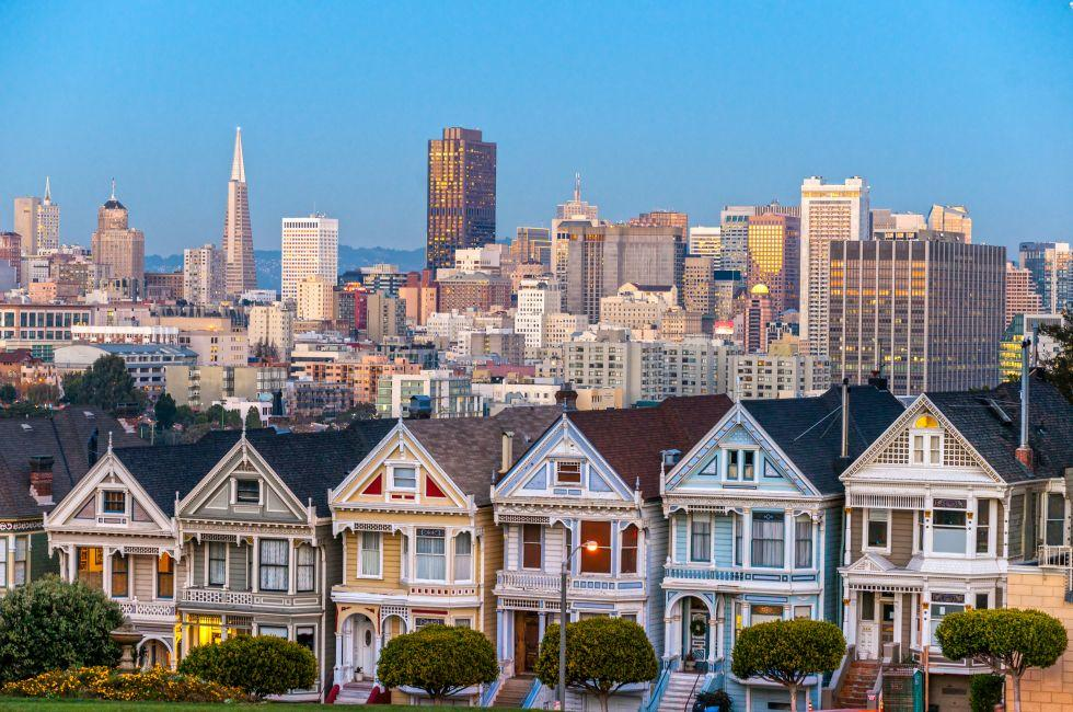 The Painted Ladies of San Francisco, San Francisco, California