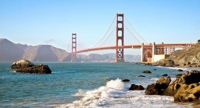 Golden Gate Bridge Review San Francisco California
