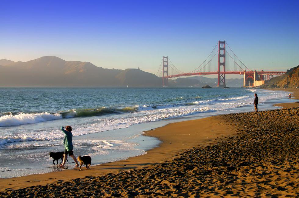 Baker Beach, Golden Gate Bridge, San Francisco, California