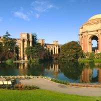 The Palace of Fine Arts, San Francisco, California, USA