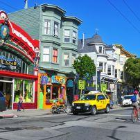 Stores, Haight Street, San Francisco, California