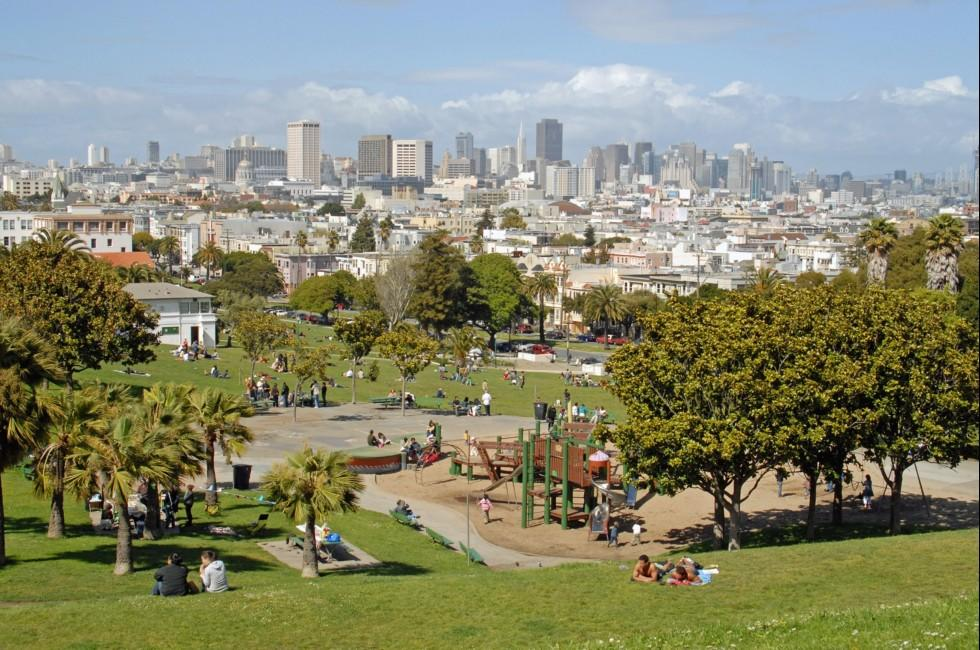 Dolores Park, San Francisco, California, USA