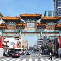 The Friendship Archway, Chinatown, Washington D.C., USA.