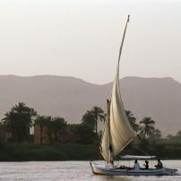Sailboat, Nile River, Aswan to Luxor, Egypt