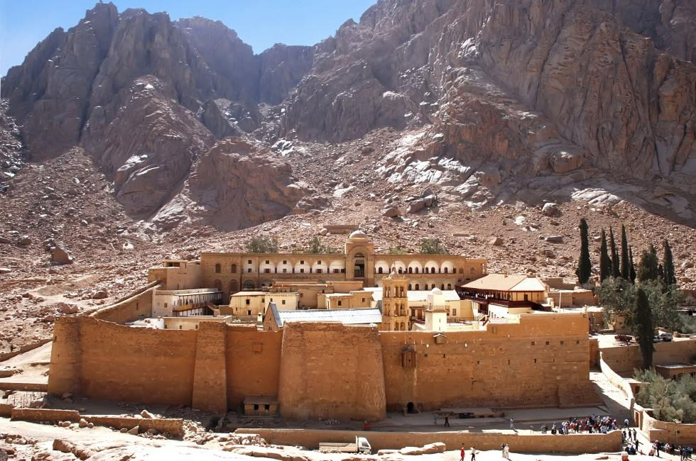 Monastery of St. Catherine, The Sinai Peninsula, Egypt