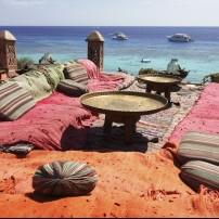 Outdoor Lounge, Sharm El Sheikh, Red Sea Coast, Egypt