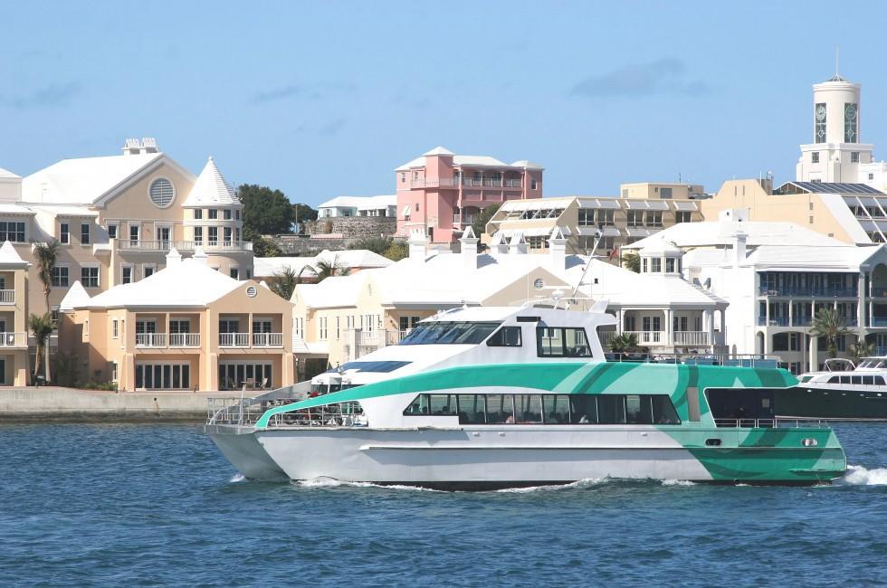 Passenger Ferry, Hamilton, Environs, Bermuda, Caribbean
