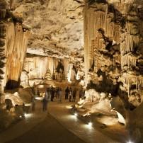 The Throne Room, Cango Caves, Oudtshoorn, The Little Karoo, South Africa