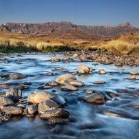 River, KwaZulu Natal Park, Drakensburg, South Africa