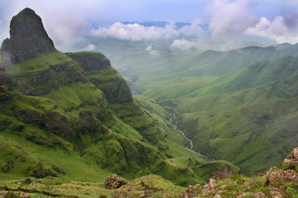 Valley, Drakensberg, South Africa