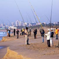 Fishermen, Blue Lagoon Beach, Durban, South Africa
