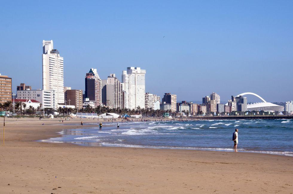 South Beach, Golden Mile, Durban, South Africa