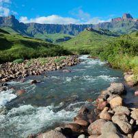Tugela River, Drakensberg Mountains, Royal Natal National Park, South Africa