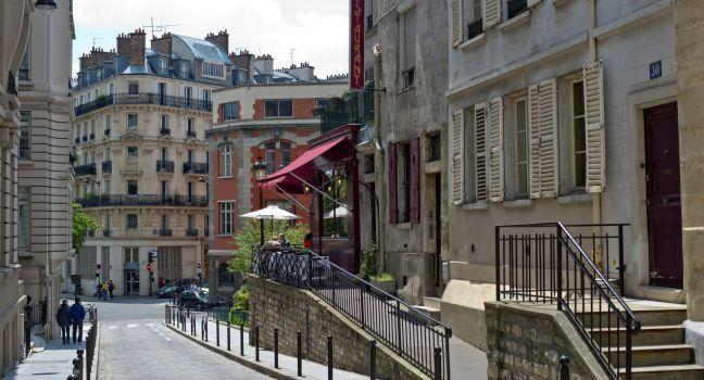 Street, Rue Mouffetard, Paris, France