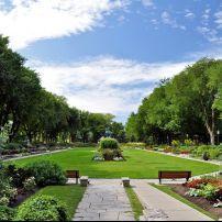 Flowers, Joan of Arc Garden, Parc Jeanne d'Arc, Quebec City, Canada