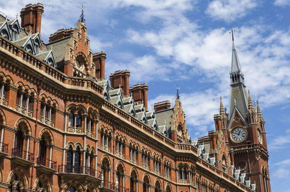 St. Pancras Renaissance Hotel London, King's Cross, London, England