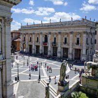 The Campidoglio, Campidoglio, Ancient Rome, Italy.