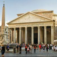 Pantheon, Navona, Piazza Navona, Campo de Fior, and the Jewish Ghetto, Rome, Italy.