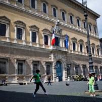 Soccer, Palazzo Farnese, Rome, Italy