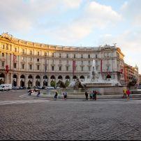 Piazza della Repubblica, Repubblica, Repubblica and Quirinale, Rome, Italy.
