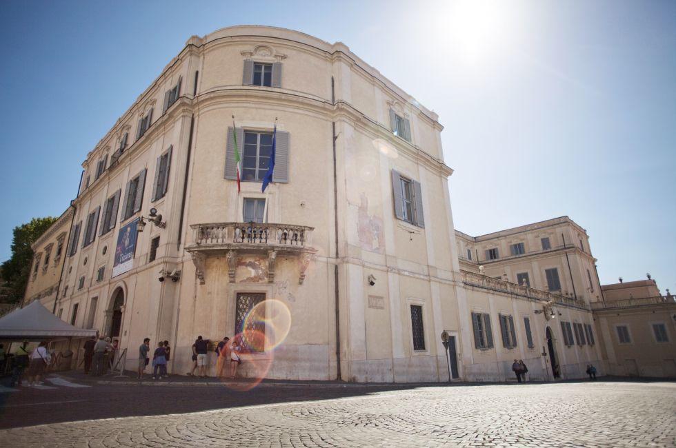 Scuderie del Quirinale, Quirinale, Repubblica and Quirinale, Rome, Italy.
