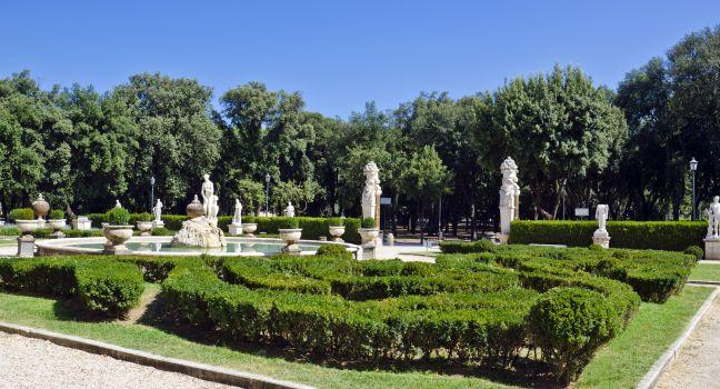 The Garden of Venus, Villa Borghese, Rome, Italy