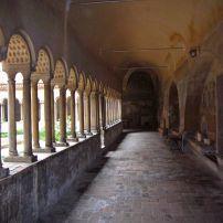 Courtyard, Santi Quattro Coronati, Celio, Monti, Esquilino, Celio, and the Via Appia Antica, Rome, Italy.