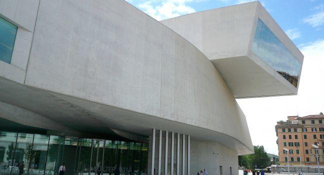 MAXXI, Museo Nazionale delle Arti del XXI Secolo, Flaminio, Villa Borghese, Piazza del Popolo, and Flaminio, Rome, Italy.