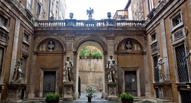 Palazzo Mattei di Giove, Rome, Italy