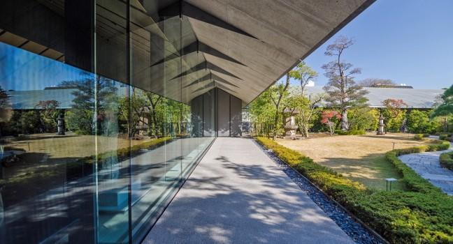 Exterior, Nezu Museum, Tokyo, Japan, Japan