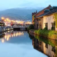 Canal, Hokkaido, Japan