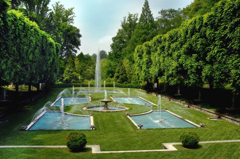 Longwood Gardens, Kennett Square, Brandywine Valley, Pennsylvania, USA.