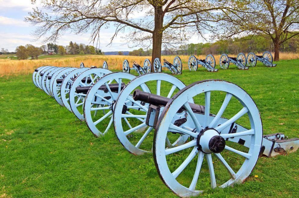 Valley Forge National Historical Park, Valley Forge, Brandywine Valley, Pennsylvania, USA.