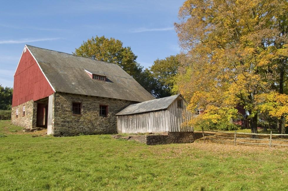 Farm, Bucks County, Pennsylvania, USA