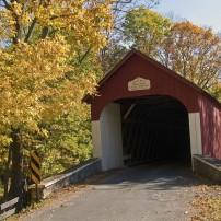 Knechts Covered Bridge, Bucks County, Pennsylvania, USA