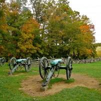 Cannons, Seminary Ridge, Gettysburg, Pennsylvania, USA