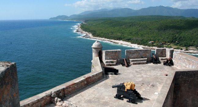 The Cuba Fortress, Santiago de Cuba, Cuba